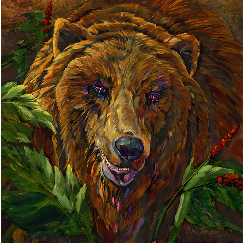 A Good Summer for Berries--Kodiak Bear